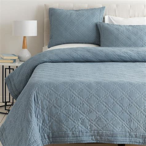 artistic bedding artistic weavers milena blue full queen duvet set