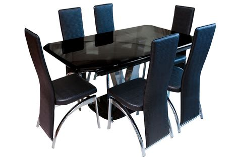 Furniture City Glass by Furniture City Suriname Glass Dining Table Set