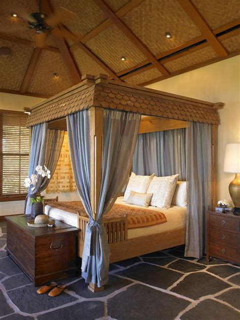 exotic canopy beds give your bedroom a luxurious edge with a decorative