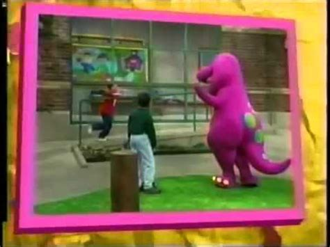 barney five kinds of credits pbs barney friends you can do it credits pbs sprout