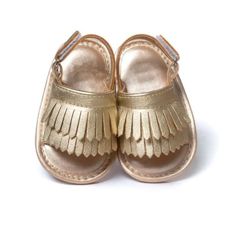 baby bottom shoes summer infant baby tassel shoes leather soft bottom