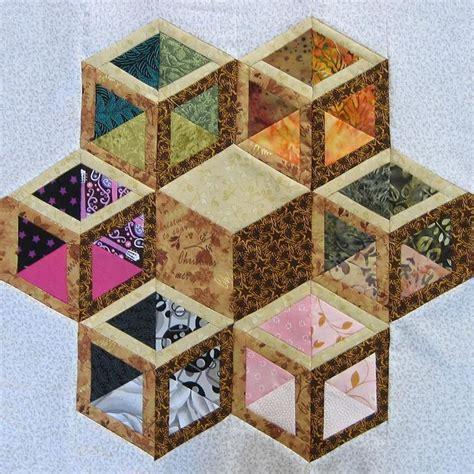 Tumbling Blocks Patchwork - tumbling blocks quilts patchwork