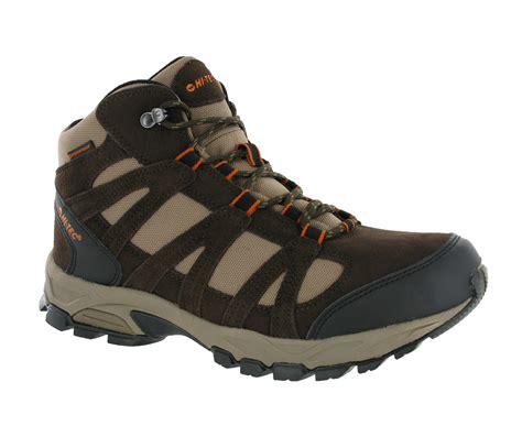 lightweight hiking shoes mens hi tec alto mid waterproof lightweight hiking walking