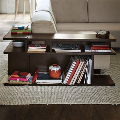 Bookcase Coffee Table Bookshelf Side Table By West Elm Icreatived