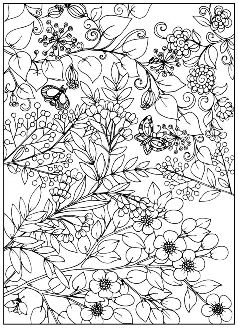 vintage coloring book for adults vintage flower coloring pages on behance