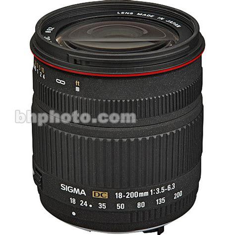 Sigma Lensa 18 200mm F 3 5 6 3 Dc Macro Os Hsm C For Nikon sigma 18 200mm f 3 5 6 3 dc lens for pentax digital slr 777109