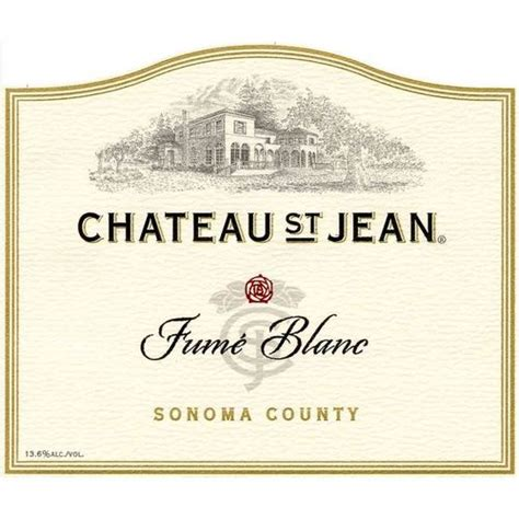 Sonoma State Wine Mba Review by Chateau St Jean Fume Blanc 2013 Spec S Wines Spirits