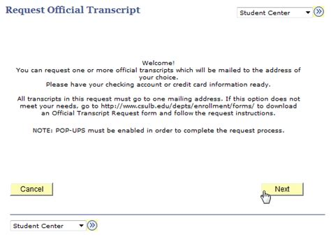 application letter for academic transcript academic history mycsulb