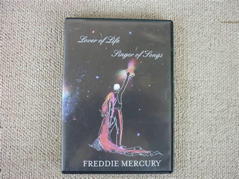 biography freddie mercury dvd freddie mercury lover of life singer of songs dvd r