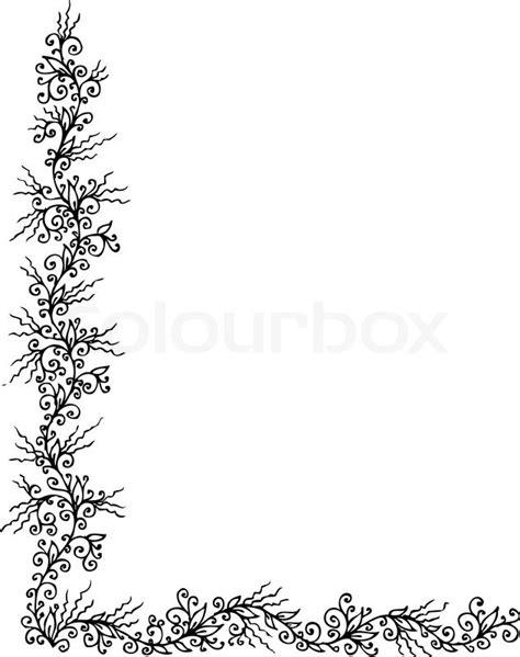 Muster Word Hintergrund Floralen Ornament 305 Eau Forte Schwarz Wei 223 Dekorativen