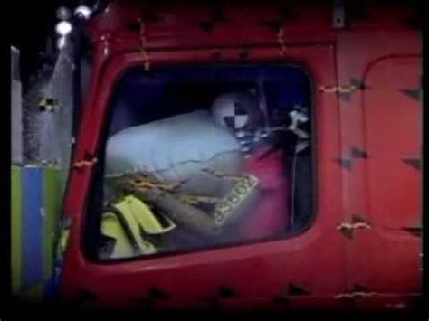 volvo trucks safety crash test truck crash