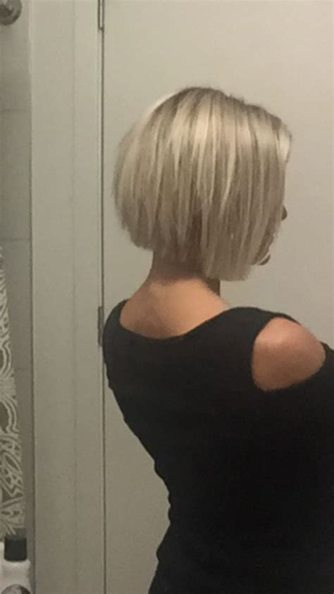 choppy inverted bob hairstyles short blonde choppy inverted bob krissafowles hair