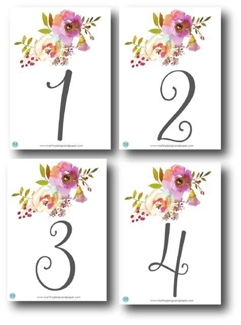 numeros para mesas boda preparar tu boda es facilisimo numeros para mesas boda numeros de mesa para bodas martina