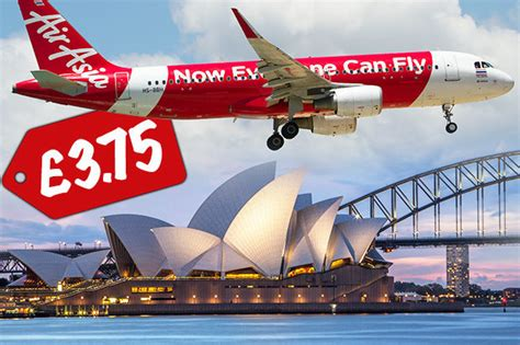 cheap flights airasia sale launches tickets from 163 3 75 one way to asia australia and nz