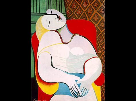 picasso paintings le reve can anyone explain to me gtfih