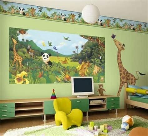 Dschungel Tapete Kinderzimmer by Kindertapete Dschungel F 252 R Attraktives Kinderzimmer