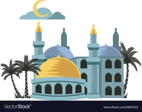 Lentera Cing Mini list of synonyms and antonyms of the word mosque vector