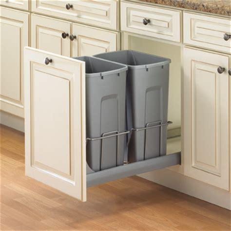 Kitchen Waste Solutions by Soft Bottom Mount Waste Bins 2 Bins Kscb15 2