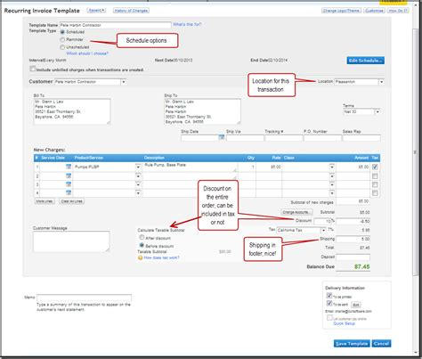quickbooks online invoice free to do list