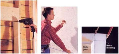 How To Make An Opening In Stucco Home Carpentry