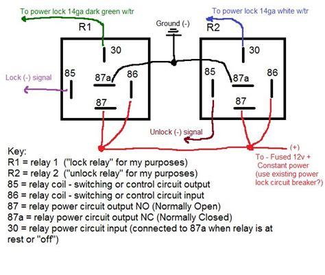 door lock relay wiring diagram door relay 1988 ford f 350 door lock wiring diagrams automotive 95 corvette door lock relay