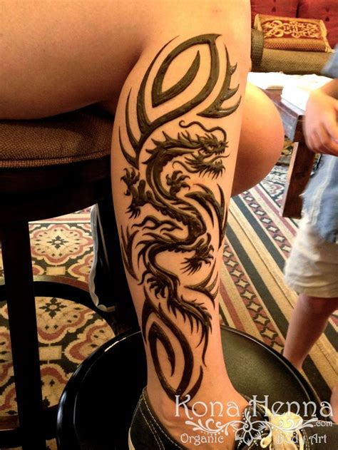 henna dragon tattoo 20 best vine images on vine tattoos