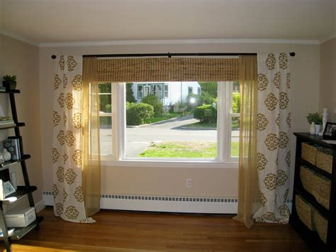 curtain ideas for bow windows bow window curtains ideas home design and decoration