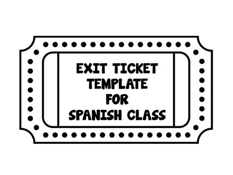 classroom exit ticket template pin by kate vecchio on teaching the youth of america