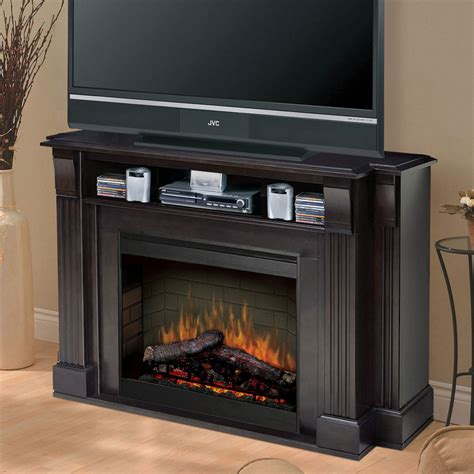 Media Stand With Fireplace by Hover To Zoom Click To Enlarge