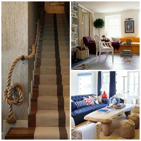 nautical home decor ideas rope decor nautical decorating ideas home decorating