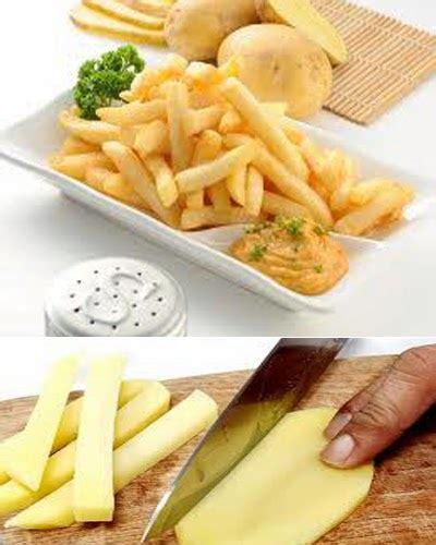 membuat kentang goreng yang renyah resep cara membuat kentang goreng yang renyah resep