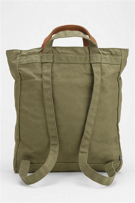 Neeshs 12 Bags Of 20 by Lyst Outfitters Fjallraven Tote Pack No 1 Bag In Green
