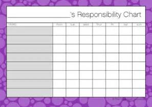 responsibility chore charts the organised housewife shop