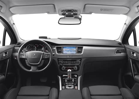 peugeot 508 interior 2012 2012 peugeot 508 rxh diesel hybrid under consideration for