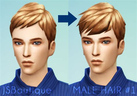 sims 4 male hairstyles male hair 1 jsboutique sims 4 creations