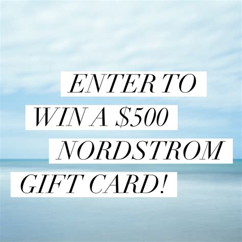 printable nordstrom gift cards 500 nordstrom giveaway southeast by midwest