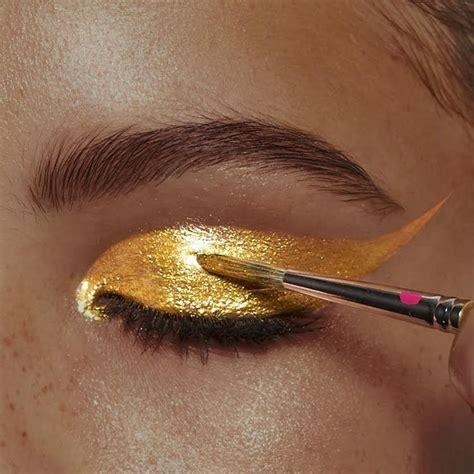 Eyeshadow Golden best 25 gold ideas on golden black