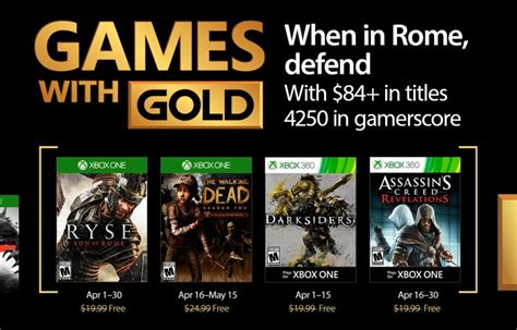 with gold april 2018 xbox with gold for april 2017 pureinfotech