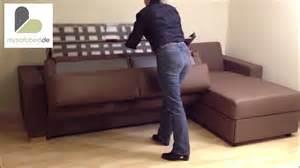 alabama schlafsofa von sofaplus mit matratze und