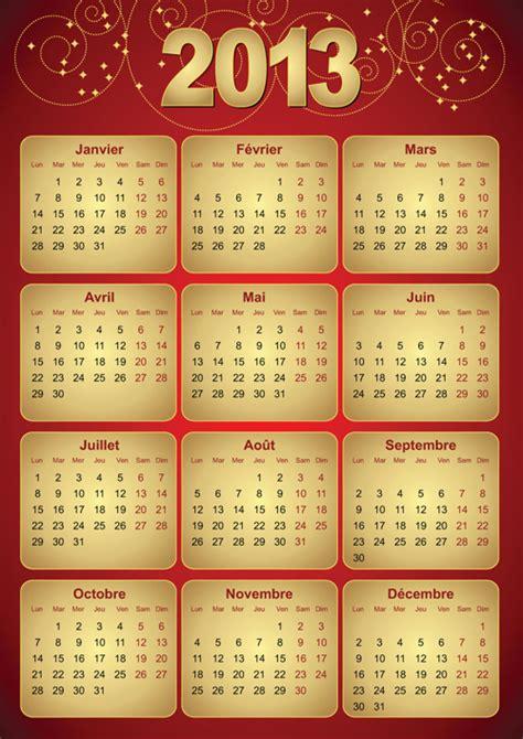 calendar design elements creative 2013 calendars design elements vector set 26