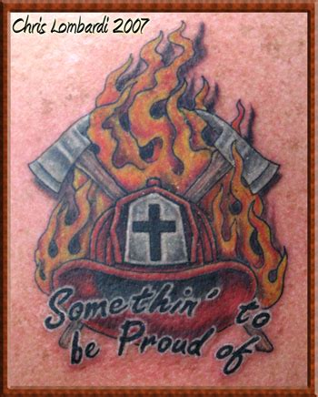 Custom Motif Go No 6 custom firefighter tattoos designs for tattoos