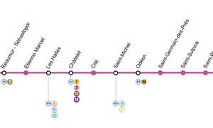 plan de metro ligne 4 subway application