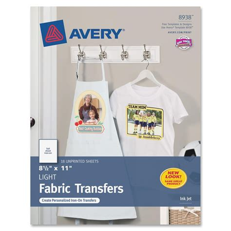 avery iron on transfers polyester avery iron on transfer ld products