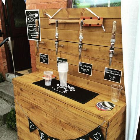 Scottish Craft Brewers Building A Party Bar Create Your Own Home Bar