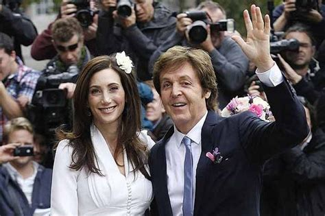 Married American Nancy Shevell Dating Mccartney Does Not Wear A Ring And Is Legally Separated From Husband by Paul Mccartney Wedding Former Beatle Marries American