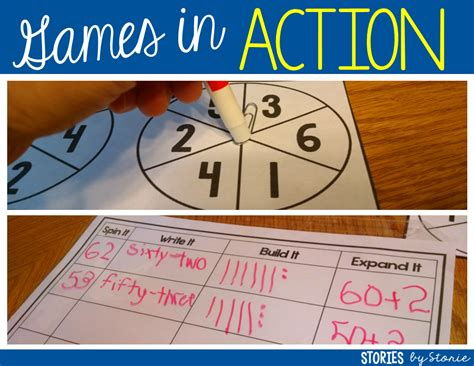 R Title Value by Place Value With Spinners