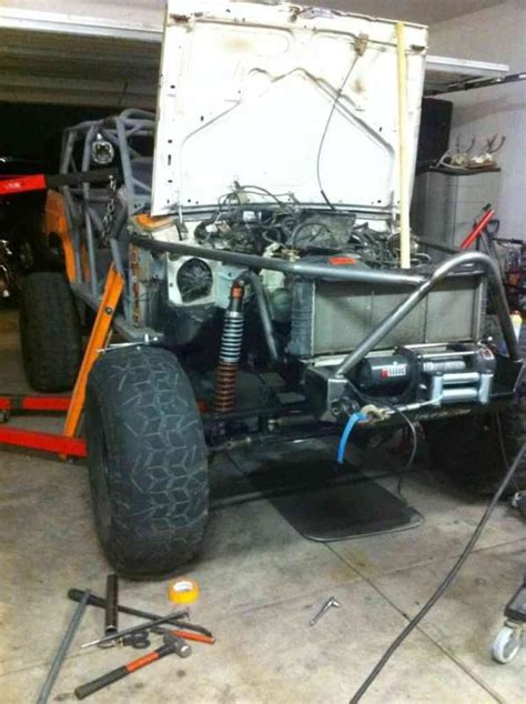 Kaos Jeep Jeep 04 front and coilovers pirate4x4 4x4 and