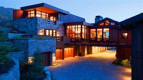 mountain modern style homes modern mountain house plans
