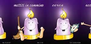 colore delle candele dell avvento la candela dell avvento anno b cantalavita