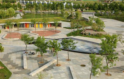Landscape Architecture Open University Qinglongshan Cultural Plaza By Atelier Dyjg 171 Landscape